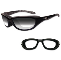 Wiley X AirRage Sunglasses with Light-Adjusting Lens