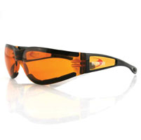 Bobster Shield II Amber Sunglasses