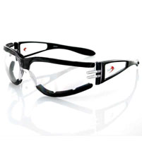 Bobster Shield II Clear Sunglasses
