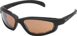 Chap'el C-1 Black Frame/Clear Lens Padded Sunglasses