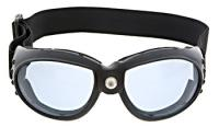 J&P Cycles® Touring Goggles: Large frame Blue lens