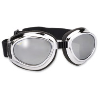 Pacific Coast Sunglasses Airfoil Chrome-Frame Goggles, 8010 Series