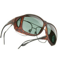 Cocoons Aviator X-Large Tortoise Frame Sunglasses
