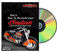 How to Re-Build Your Indian - Lower End Edition DVD