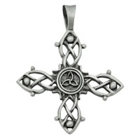 Bico  Magic Knot Silver-Plated Pewter Pendant