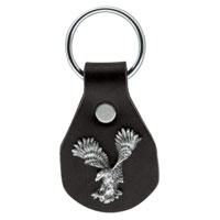 Eagle Leather Landing Eagle Concho Key Fob