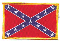 GoodSports Rebel Flag Embroidered Patch