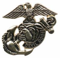 Gunz USMC Devil Dogs Pin
