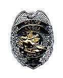 Gunz Police Law Enforcement Backup Angel Badge Pin