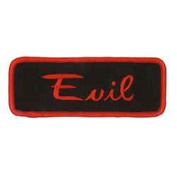 GoodSports Evil Embroidered Patch
