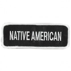 Native American Embroidered Patch