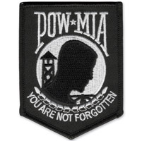 POW-MIA Embroidered Patch