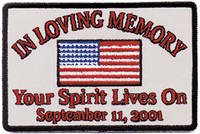 GoodSports In Loving Memory Embroidered Patch
