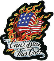 Can't Burn This One Embroidered Patch