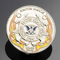 Gunz Coast Guard Pin