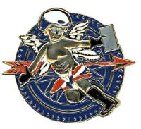 Gunz Motorman's Angel Pin