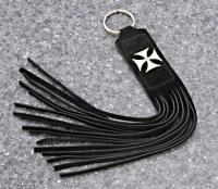 Eagle Leather Maltese Cross Collection Key Whip