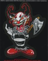 Lethal Threat Ax Clown  Embroidered Patch