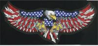 Lethal Threat Eagle Attack Embroidered Patch