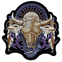 Hot Leathers Badlands Embroidered Patch