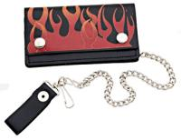 "Hot Leathers 6"" Leather Wallet"