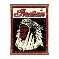 Nostalgic Images American Indian Collector Metal Sign