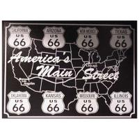 Nostalgic Images Route 66 Main Street Collector Metal Sign