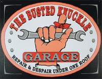 The Busted Knuckle Garage Sign