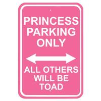 Nostalgic Images Princess Parking Sign