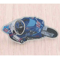 Moto 1 USA Kenny Roberts Jr. Bobble Head Pin