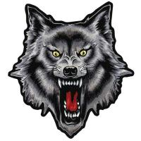 Lethal Threat Wolf Embroidered Patch
