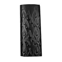 Hair Glove Embossed Flames Ultimate Wrap for Long Hair