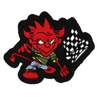 Lethal Threat Devil Flag Embroidered Patch