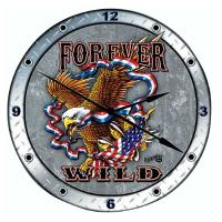 Forever Wild Wall Clocks