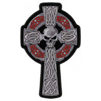 GoodSports Skull and Cross Embroidered Patch