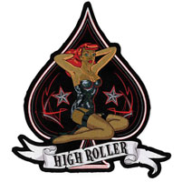 Lethal Threat High Roller Embroidered Patch