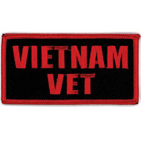 Hot Leathers Vietnam Vet Embroidered Patch