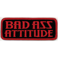 Hot Leathers Bad Ass Attitude Patch