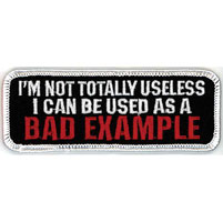 GoodSports Bad Example Attitude Patch