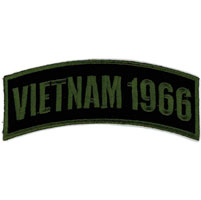 Hot Leathers Vietnam 1966 Arm Rocker Patch