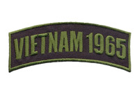 Hot Leathers Vietnam 1965 Arm Rocker Patch