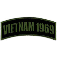 Hot Leathers Vietnam 1969 Arm Rocker Patch