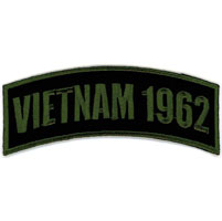 Hot Leathers Vietnam 1962 Arm Rocker Patch