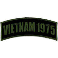 Hot Leathers Vietnam 1975 Arm Rocker Patch