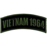 Hot Leathers Vietnam 1964 Arm Rocker Patch