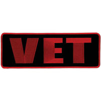 Hot Leathers Vet Lower Back Patch