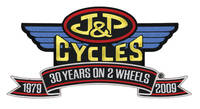 J&P Cycles® 30th Anniversary Patch