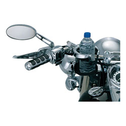 Kuryakyn Chrome Universal Drink Holder with Basket