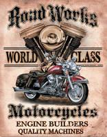 Nostalgic Images Legends - Road Works Collector Metal Sign