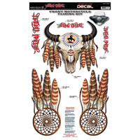 Lethal Threat Cow Skull Fairing Kit